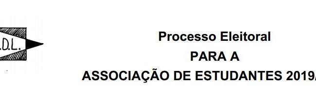 Candidatura à A. E. ES Júdio Dantas (2019)