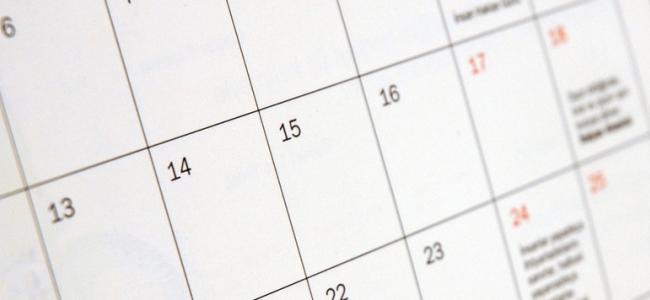 Calendário Provas Equivalência e Exames