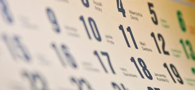 Calendário de Provas - Cursos Profissionais 2020