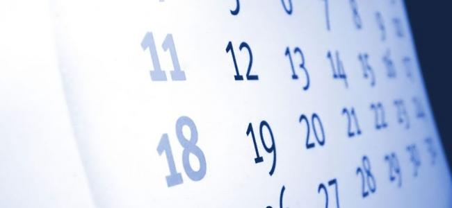 Calendário Provas - Setembro (2015/2016)