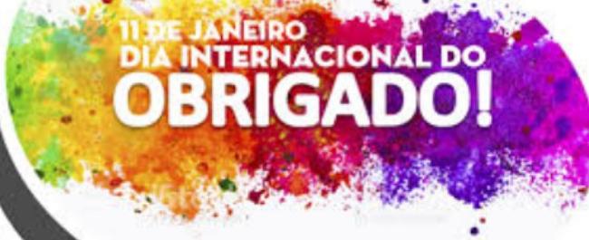 Dia Internacional do Obrigado 2021