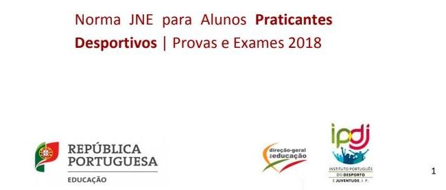 Praticantes Desportivos - Provas e Exames (2019)