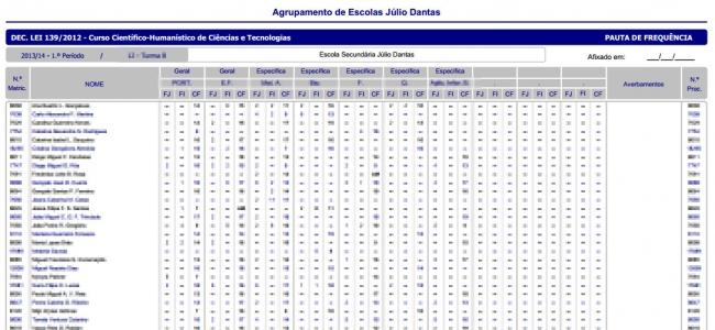 Classificações do 2.º Período - 2018/2019